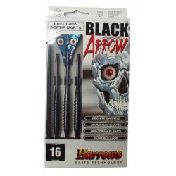 Šípky SOFT BLACK ARROW 16g