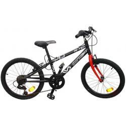 """""""Juniorský bicykel 20 """"""""DINO čierne"""""""