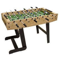 Stolný futbal BELFAST 121 x 101 x 79 cm -  svetlé drevo