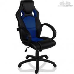 Otočná kancelárska stolička MODRÁ MX Racer