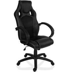 Otočná kancelárska stolička čierna MX Racer