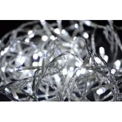 LED osvetlenie Garth - biele - 18 m