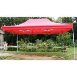 Záhradný párty stan CLASSIC nožnicový - 3 x 4,5 m červený