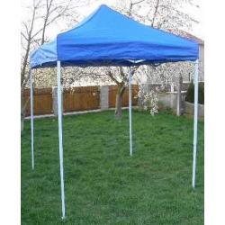 Záhradný párty stan CLASSIC nožnicový - 2 x 2 m modrý