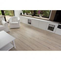Vinylová plovoucí podlaha STILISTA 5,07m², bílý dub