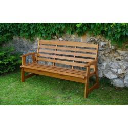Záhradná lavica RUSTIKA