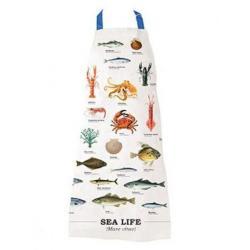 Kuchyňská zástěra - mořský svět