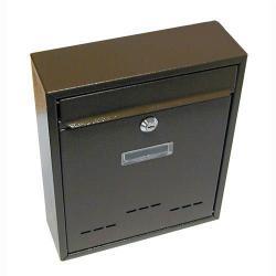Schránka poštová RADIM malá 310 x 260 x 90 mm hnedá