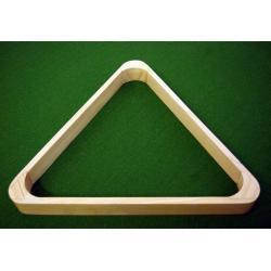 Trojuholník drevený svetlý 57,2 mm