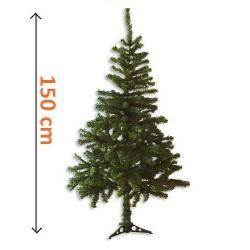 Umelý vianočný strom - tmavo zelený, 1,5 m