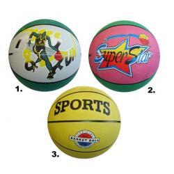 Míč basketbalový potištěný vel. 7