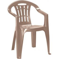 Záhradná stolička MALLORCA – cappuchino