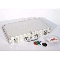 Poker set 300 ks žetónov s príslušenstvom
