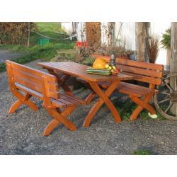 Záhradná drevená lavica STRONG 160 cm