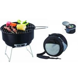 Záhradný vonkajší Kemping Grill BBQ + chladiaca taška
