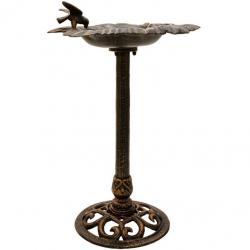Liatinové vtáčie kŕmidlo - bronzové