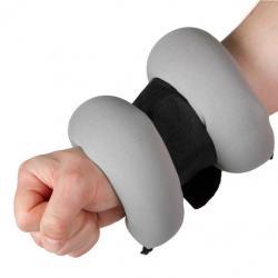 Členkové závažie neoprénové 2 kg sivá / čierna