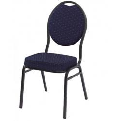 Kvalitná stolička kovová Monza - modrá