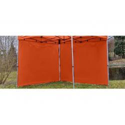 Sada 2 bočných stien pre PROFI záhradný stan 3 x 3 m - terakota