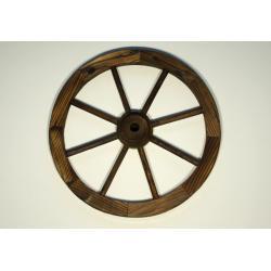 Drevené koleso 50 cm - štýlová rustikálna dekorácia Garth
