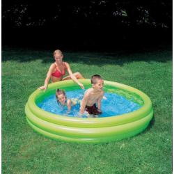 Okrúhly nafukovací bazén trojkomorový