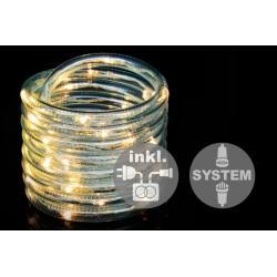 diLED rozšíriteľný svetelný kábel - 40 diód, 3 m + TRAFO