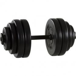 Jednoručná posilňovacia činka MOVIT 1 x 15 kg