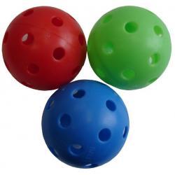 Floorbalová loptička necertifikovaná farebná
