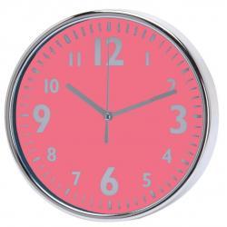 Nástěnné hodiny 20 x 3,6 cm - RŮŽOVÁ