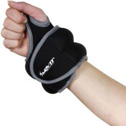 MOVIT neoprénová kondičná záťaž 0,5 kg, čierna