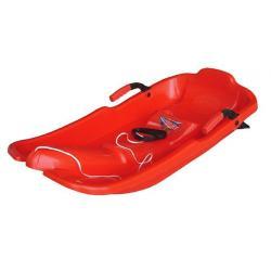 Turbojet plastový bob - červený