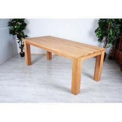 Záhradný drevený stôl z teakového dreva 180 x 90 x 77 cm