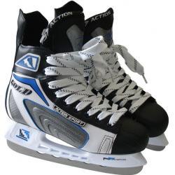 Hokejové korčule Action chlapčenské, vel.38